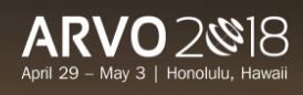 ARVO 2018 Annual Meeting, 29th April - 3rd May