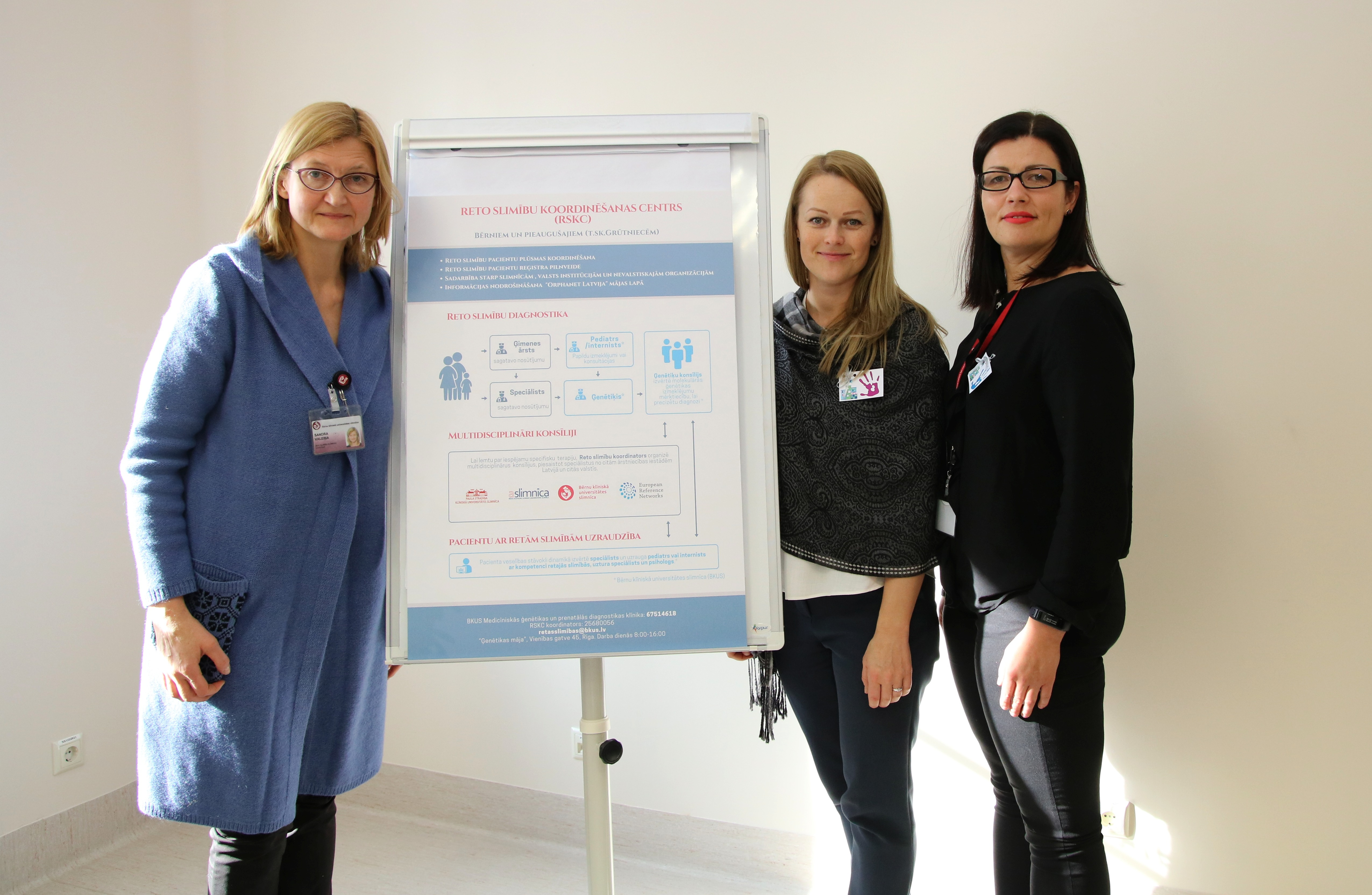 Launch of the Latvian Rare disease coordination center
