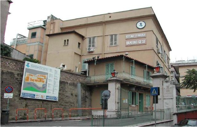 Bambino Ges Childrens Hospital Of Rome Italy