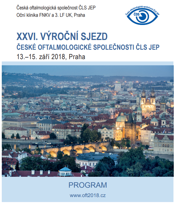 XXVI. Annual Congress of the Czech Ophthalmological Society of JEP